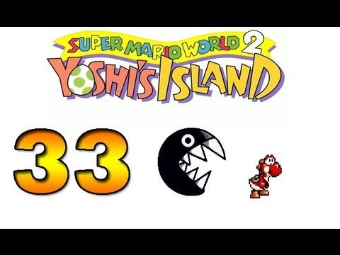 Let's Play Super Mario World 2 Yoshi's Island Part 33 - KEEP MOVING...SERIOUSLY ft. RED YOSHI - YouTube