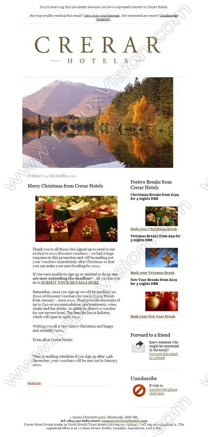Best Email Design Hotels  Hospitality Images On