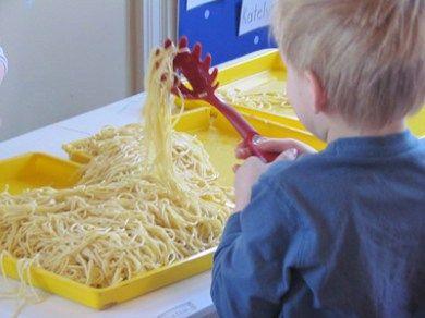 Picking up Spaghetti