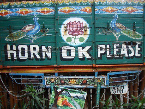 MIRELLE: Indian trucks - definitely some work of art