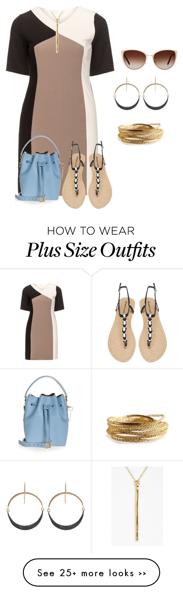 """plus size tuesday nails and shopping"" by kristie-payne on Polyvore"
