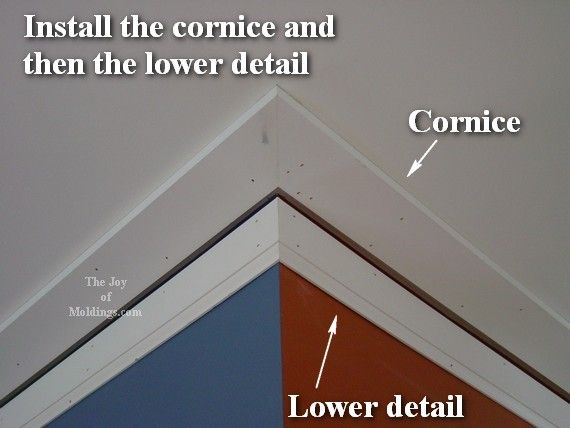 Trim Throughout The House Craftsman Crown Molding The