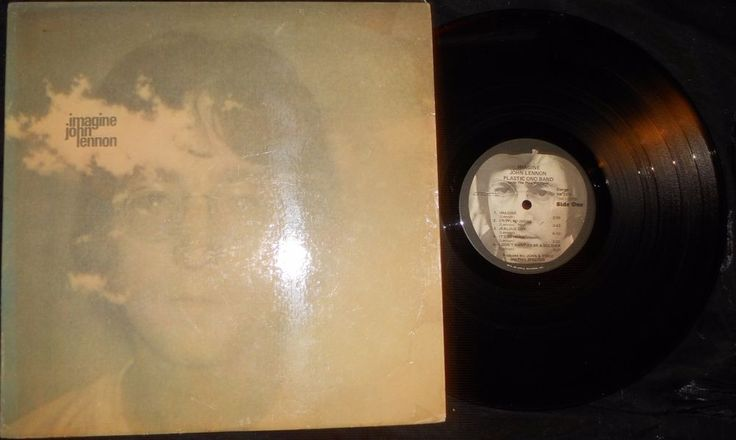 Imagine [LP] by John Lennon (Vinyl, 1971, Apple Records SW 3379 USA) EX Beatles #BritishInvasionHardRockRocknRollSingerSongwriterSoftRock