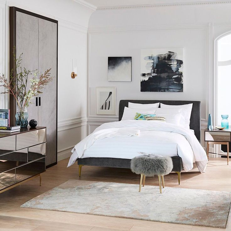 "11.3k Likes, 40 Comments - west elm (@westelm) on Instagram: ""Experts agree — beauty rest is best done in a beautiful space. ✨ Shop this entire bedroom with…"""