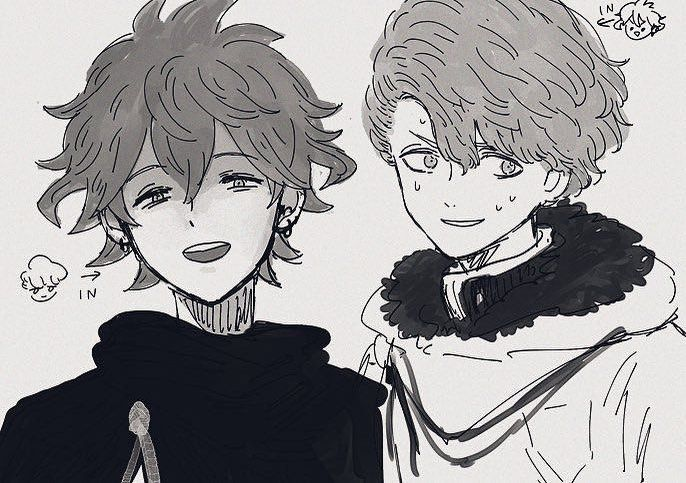 What Have You Done To Me Langris X Finral Loving Surprise Black Clover Anime Black Clover Manga Black Bull
