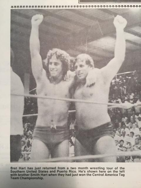 Bret & Smith Hart.