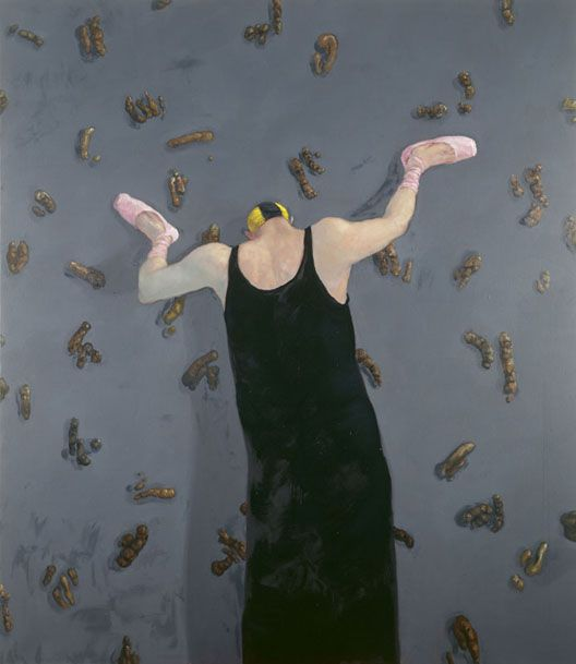 """Danish painter Michael Kvium """"Art Me III"""" 1994"""