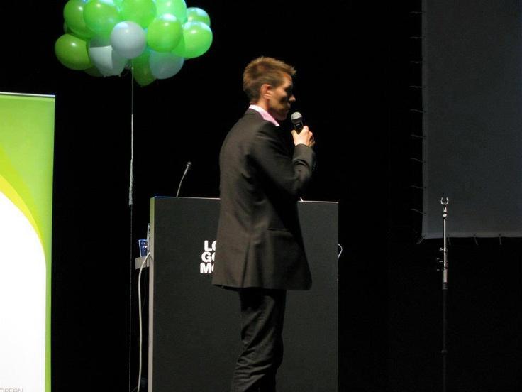 Teemu Malinen, Sofokus Oy Eurooppalaisen Yrittäjyyden päivässä 2012 #EDE