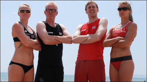 GB's top beach volleyball duo admit they need to find more consistency as they aim for London 2012 success.
