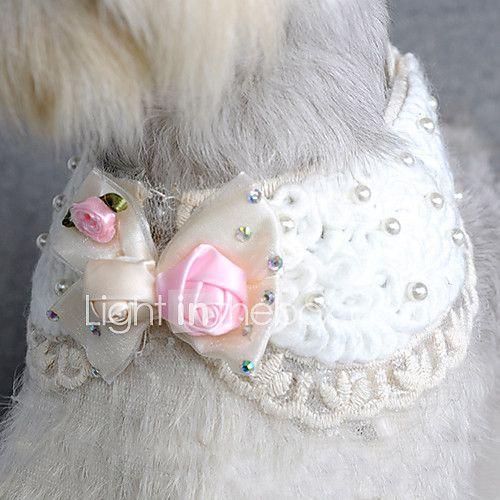 Rhinestone bowknot colar colar de como elegante para animais de estimação cães de 2017 por R$20.92
