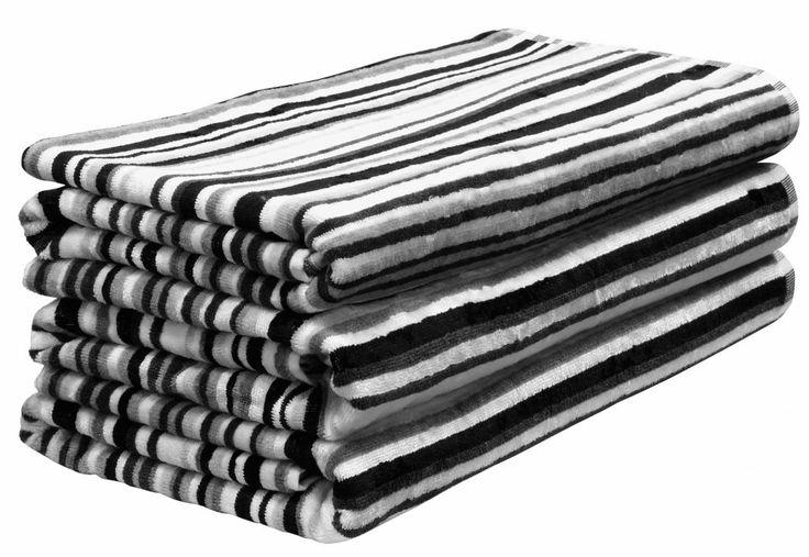 Osuška Multistripe 100x150 | Nordic Day
