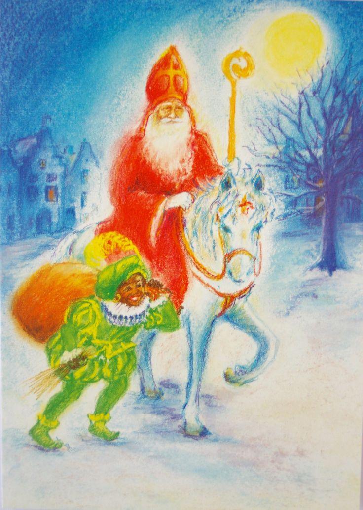 Sinterklaas Marjan van Zeyl
