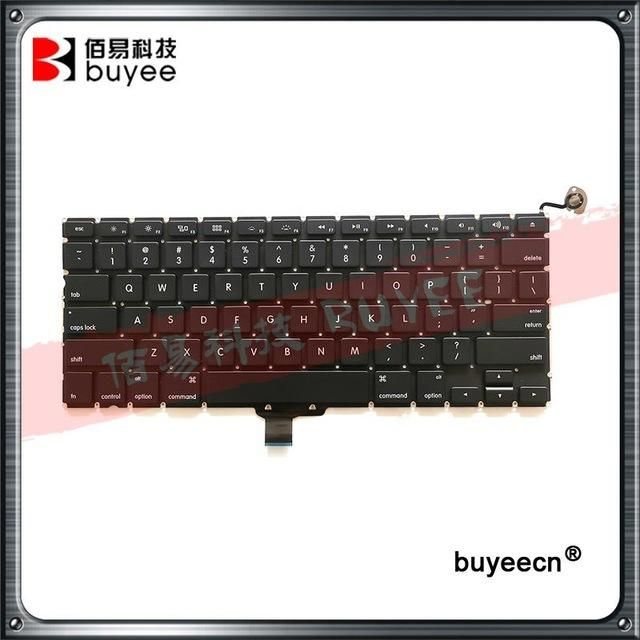 New 2009 2010 2011 2012 Year A1278 Laptop US Keyboard For Macbook Pro A1278 US Keyboard Layout Replacement