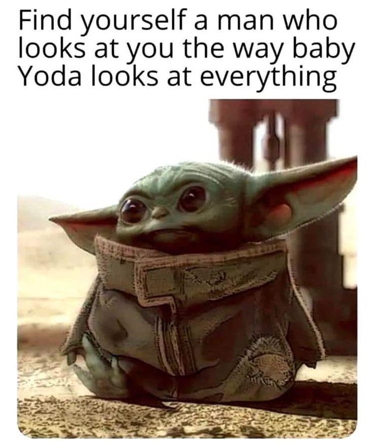 Pin by Sandi Williams on Baby Yoda in 2020 | Yoda meme ...