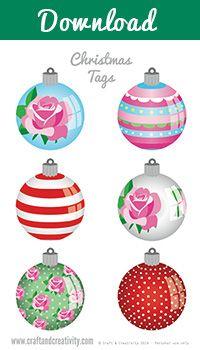 Imprimibles Navidad Etiquetas - por Artesanía y Creatividad