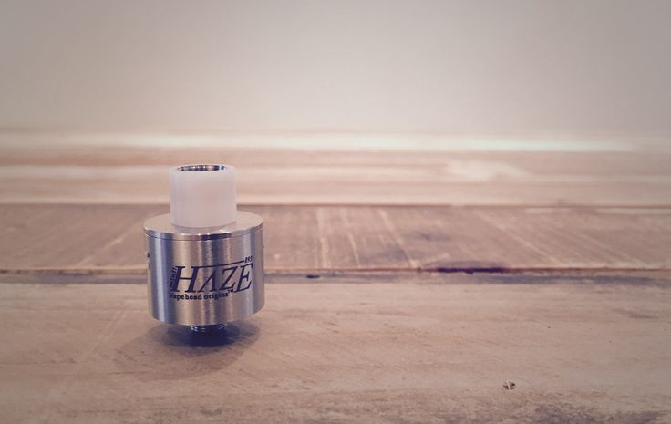 Always on the look out for kick ass flavour and we are always willing to check out mini RDAs because those small vapor chambers usually add up to big flavour. Well the Mini Haze delivers some good flavour for sure and it's an angry little atty, it hits pretty hard!