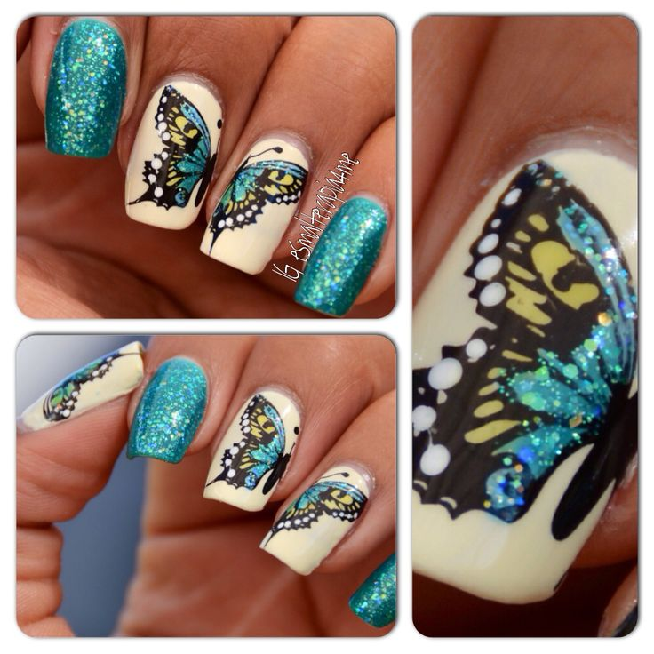 Leadlight and nail stamping.