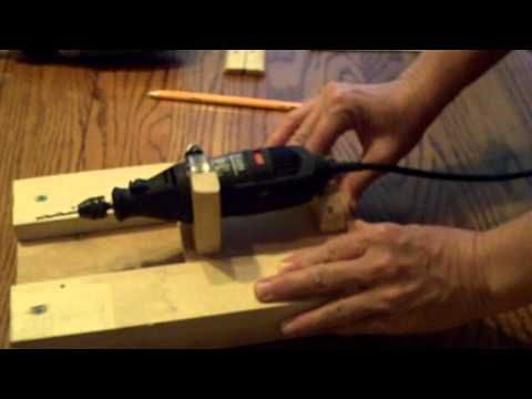 Pt 2 of 4 How to build a router table for your dremel tool - YouTube