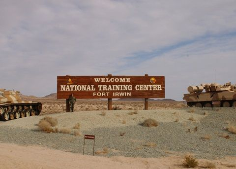 Fort Irwin, CA Worked here for MANY years.