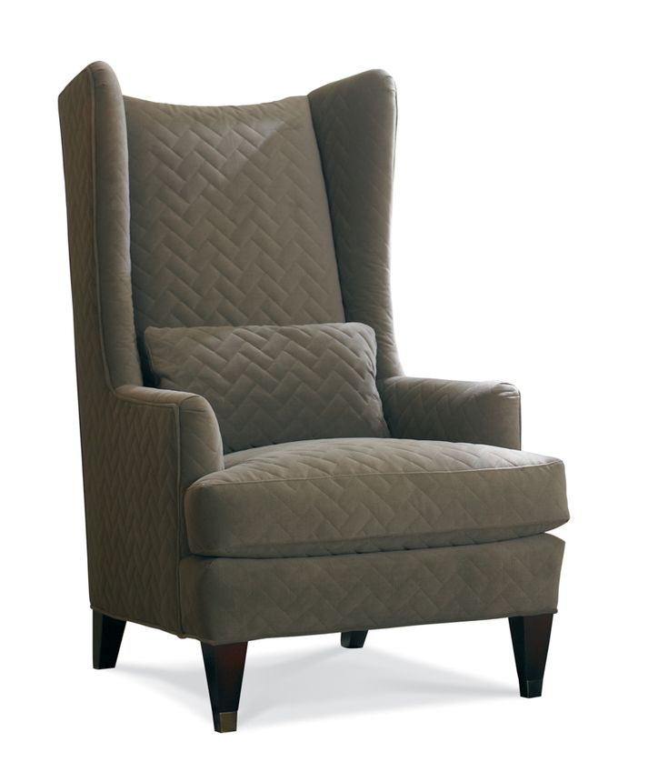 Living room chair idea sherrill transitional high back - Upholstered benches for living room ...