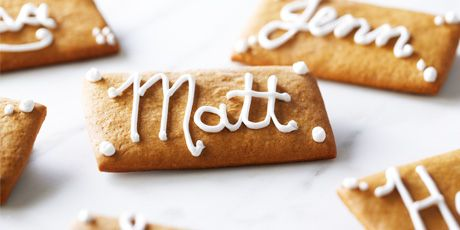 Ditch the paper and make these amazing edible placecard tags for your next dinner party!