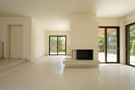 livingroom - fireplace - www.fgavalas.gr