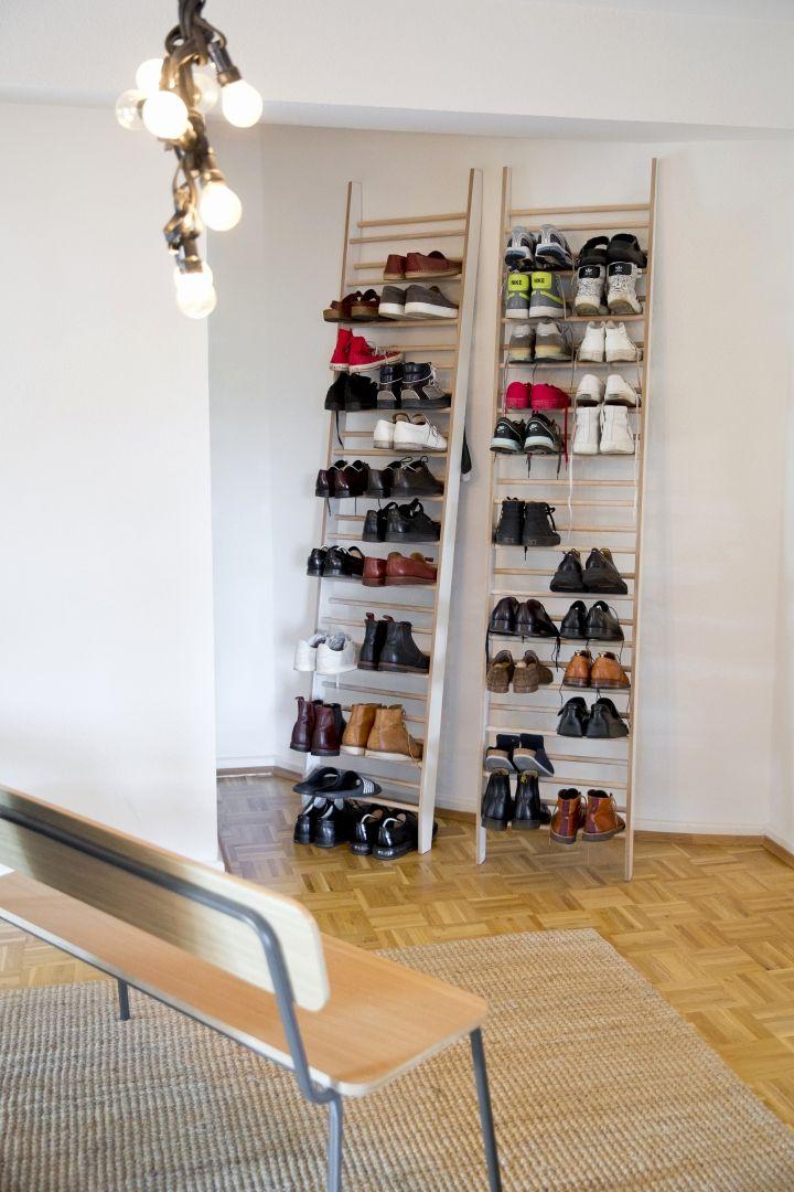 Spiegel Schuhschrank Drehbar Elegant 2 Ein Dekoratives Schuhregal