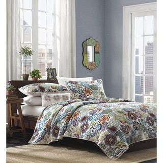 Mi Zone Asha Multi Paisley Quilted Coverlet Set   Overstock.com Shopping - The Best Deals on Kids' Quilts