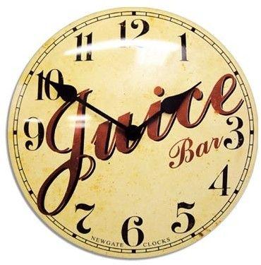 Juice Bar vintage clock - £75