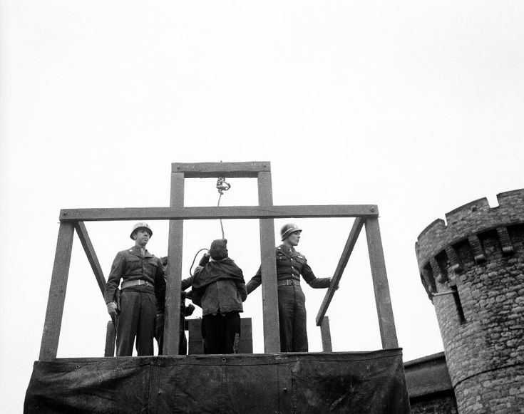 Tod durch den Strang:  Karl Willig wurde am 14. März 1946 hingerichtet,...