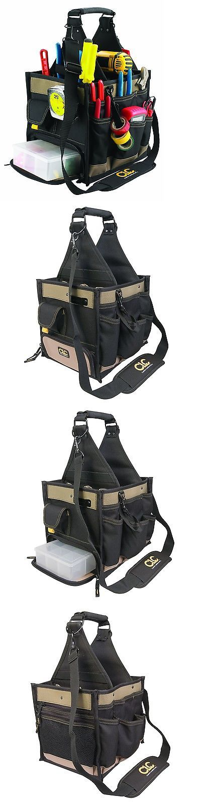 Bags Belts and Pouches 42362: Custom Leathercraft 1528 23 Pocket Large Electrical And Maintenance Tool Carr... -> BUY IT NOW ONLY: $51.52 on eBay!