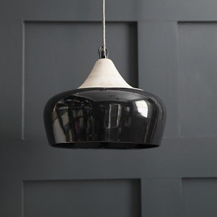 Alhambra ceiling pendant in gloss black atkin and thyme find this pin and more on focal point lighting