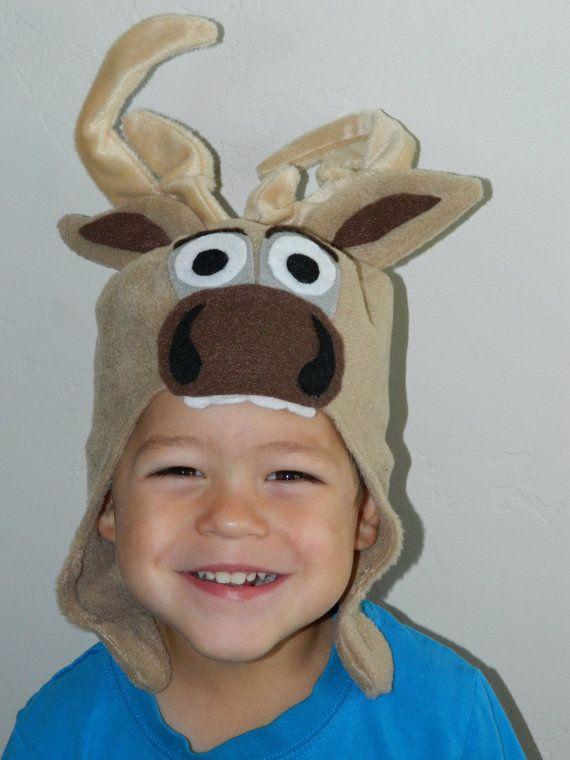 Sven inspired reindeer hat frozen  Halloween by homemadelearning #sven #frozen #reindeer