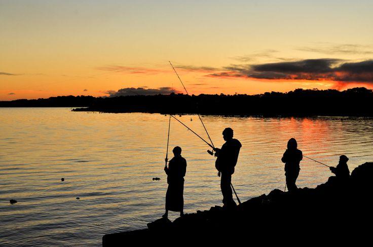 RoyalAuto, September 2015. Things to do around Inverloch. Photo: Anne Morley #inverloch #fishing #AndersonsInlet #MahersLanding  #sunset