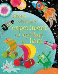 Stora boken med experiment för nyfikna barn (häftad)