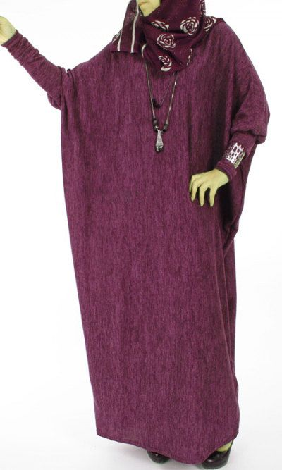 Butterfly Velvet Abaya Dress