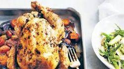 Tobie Puttock. Roast Chicken with Sage & Lemon #recipe