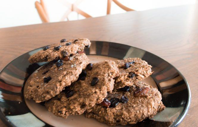 Breakfast Oatmeal Cookies