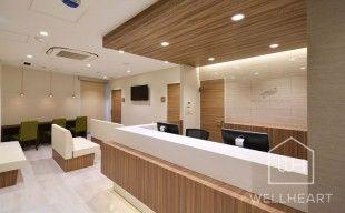 WORKS:ウェルハート クリニックのデザイン・設計・施工