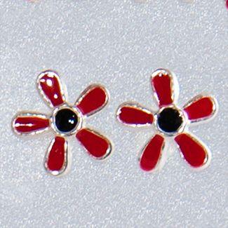 Cercei din argint pentru fetite Floriceledoar pe www.silverbox.ro