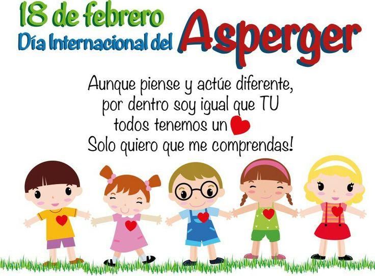 18 de Febrero: Dia Internacional del Sindrome de #Asperger
