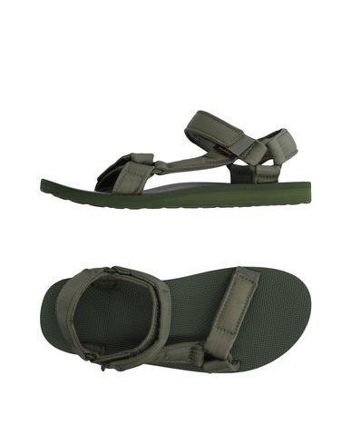 TEVA Men's Sandals Military green 12 US