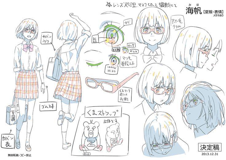 Makoto Shinkai ★ || CHARACTER DESIGN REFERENCES (www.facebook.com/CharacterDesignReferences & pinterest.com/characterdesigh)