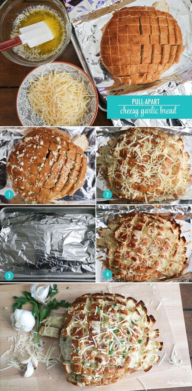 TheChic_cheesy-garlic-bread-steps 1