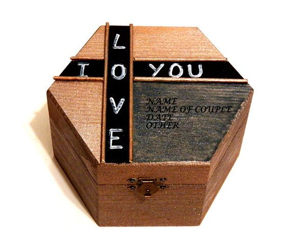 Personalizada Caja para Hombre Caja Rústica de por Personalizedbox