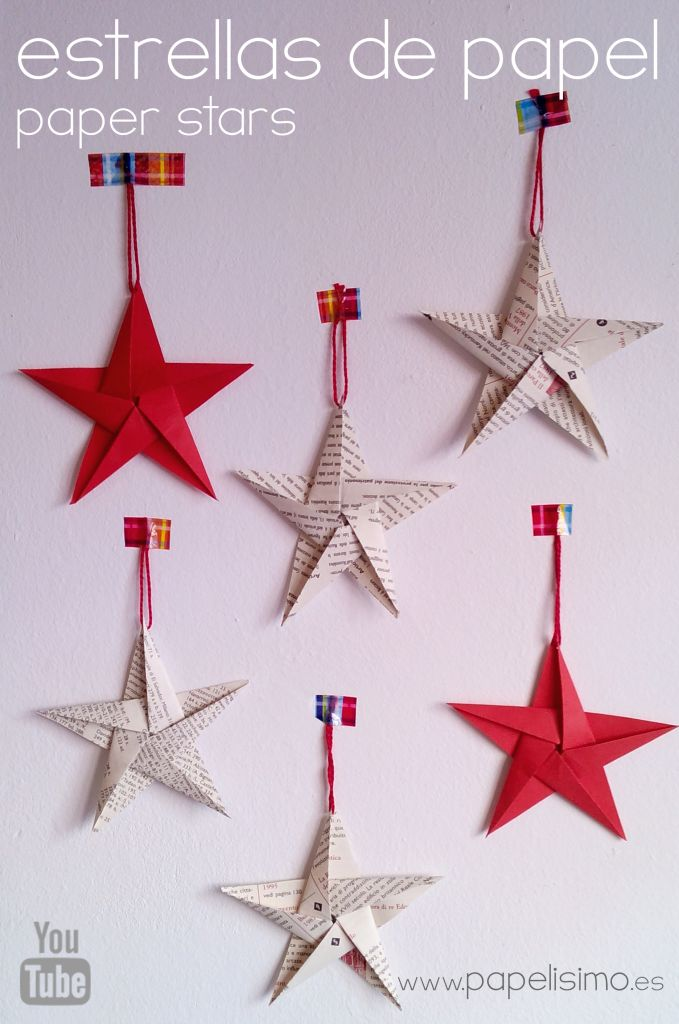 M s de 25 ideas incre bles sobre estrellas de papel en - Origami de una estrella ...