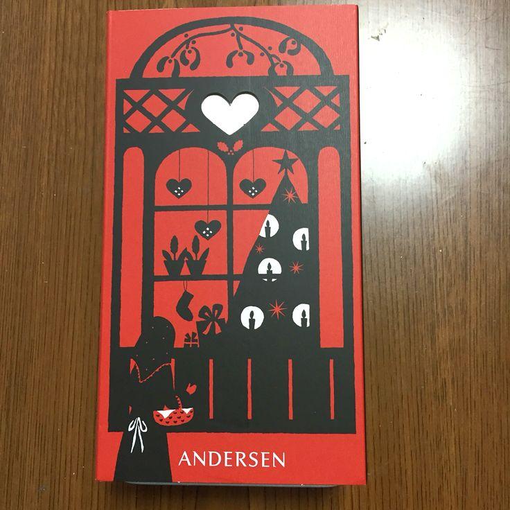 アンデルセンの童話クッキーです。