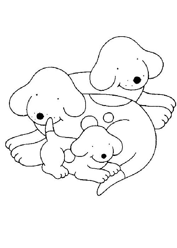 Spot The Dog Coloring Pages 5