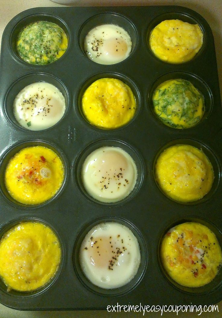 Extremely Easy Couponing: Baked Eggs in Muffin Tin