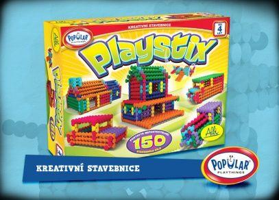 Playstix - kreativní stavebnice pro děti od 4 let